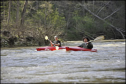 canoeing and kayaking available on scenic Blue River